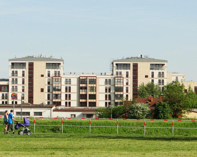 nowe osiedle mieszkaniowe Zabłocie